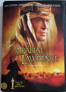 Lawrence of Arabia 2xDVD 1962 Arábiai Lawrence / Directed by David Lean / Starring: Alec Guinness, Anthony Quinn, Jack Hawkins, José Ferrer (5996255734379)
