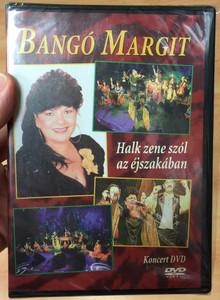 Bangó Margit - Halk zene szól az éjszakában DVD 2001 Koncert felvétel / Városmajori Szabadtéri színpad / Producer Holub Péter / HAUS-R / Exklúzív Music (4260757200443)