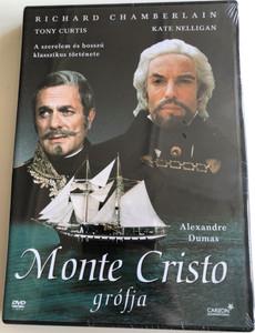 The Count of Monte Cristo DVD 1975 Monte Cristo grófja / Directed by David Greene / Starring: Richard Chamberlain, Kate Nelligan, Tony Curtis, Donald Pleasence (5999546330427)