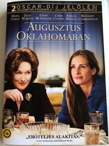 August Osage County DVD 2013 Augusztus Oklahomában / Directed by John Wells / Starring: Meryl Streep, Julia Roberts, Ewan McGregor (5996514019322)