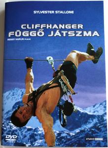 Cliffhanger 1993 Függő Játszma DVD / Directed by Renny Harlin / Starring: Sylvester Stallone, John Lithgow, Michael Rooker, Janine Turner (5996051090303)