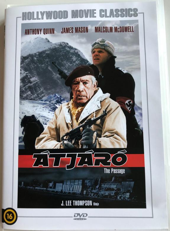 The Passage DVD 1979 Átjáró / Directed by J. Lee Thompson / Starring: Anthony Quinn, James Mason, Malcolm McDowell / Hollywood Movie Classics (5999546335460)
