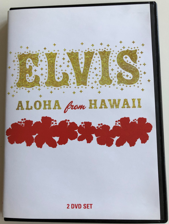 Elvis - Aloha from Hawaii 2 DVD deluxe edition 2004 / 2x DVD Set / BMG / Over 4 hours of video / Elvis Presley previously unseen material (886973422991)