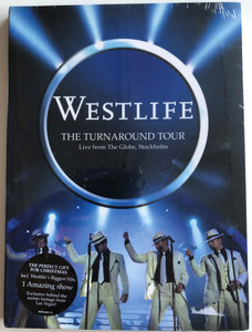 Westlife - The Turnaround Tour DVD 2004 Live from The Globe, Stockholm / Directed by Julia Knowles / The perfect gift for Christmas / 1 Amazing show (828766601794)