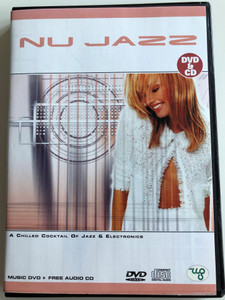Nu Jazz DVD & CD 2004 A chilled cocktail of Jazz & Electronics / Music DVD + Free Audio CD / Canasta, Le Vab, Cattle Grid / NUDVD003 (8717423000952)