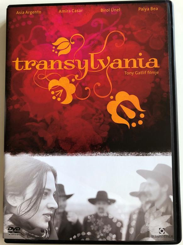 Transylvania DVD 2006 Tony Gatlif filmje / Directed by Tony Gatlif / Featuring Asia Argento, Amira Casar, Birol Ünel, Palya Bea (5999544252226)