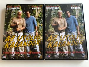 L'ainé des Ferchaux DVD SET 2001 Az utolsó Kalandor I-II.rész / / Directed by Bernard Stora / Starring. Jean-Paul Belmondo, Samy Naceri / A Profi és a Taxi sztárja egy filmben!