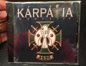 Kárpátia - Trianon – 1920 / Exkluziv Music Kiadó Audio CD 2020 / EMK 068