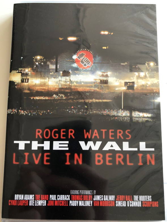 Roger Waters The Wall DVD 2003 Live in Berlin / Featuring Bryan Adams, The Hooters, Cyndi Lauper, Van Morrison, Scorpions (044003843790)