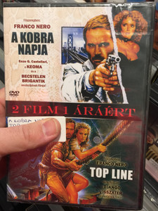 Il giorno del Cobra 1980 A kobra napja - Top Line 1988 DVD / 2 Movies on 1 disc / Directed by Enzo G. Castellaro, Nello Rossati / Starring: Franco Nero, Sybill Danning, Maria Maranzana / Day of the cobra & Top line (5999882817705)