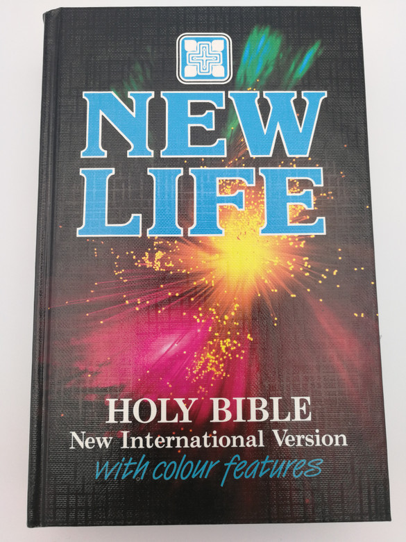 New Life Holy Bible - New International Version with colour features / NIV Holy Bible / Hardcover / NIV043PCHY / Practical Guidance for every day, One-year Bible reading plan, Bible history outline, Short summaries of Bible themes (0564059935)