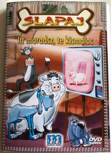 Foofur DVD 1986 Slapaj / Directed by Art Davis / Season 1 - 4 episodes / 4 epizód / Itt maradsz, te kismalac, A szerencsét hozó fekete macska, Jogi balesetek, Jó utat Fánika / American animated children's tv series by Phil Mendez (5999519418176)
