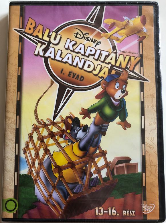 Talesipn - Volume 4 DVD 1990 Balu kapitány kalandjai 1. évad / Directed by Larry Latham, Robert Taylor / Voices: Ed Gilbert, R. J. Williams, Sally Struthers, Janna Michaels / Episodes 13-16 (5996514016994)