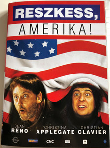 Les visiteurs en Amérique DVD 2001 Reszkess Amerika! (Just Visiting) / Directed by Jean-Marie Gaubert / Starring: Jean Reno, Christina Applegate, Christian Clavier, Malcolm McDowell (5998133195036)
