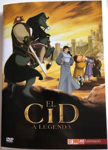 El Cid: La leyenda DVD 2003 El Cid - A legenda / Directed by José Pozo / Starring: Manel Fuentes (Rodrigo Díaz de Vivar) Sancho Gracia (Conde Gormaz) Carlos Latre (Ben Yussuf / Conde Ordóñez) / El Cid - The legend (5999544250581)