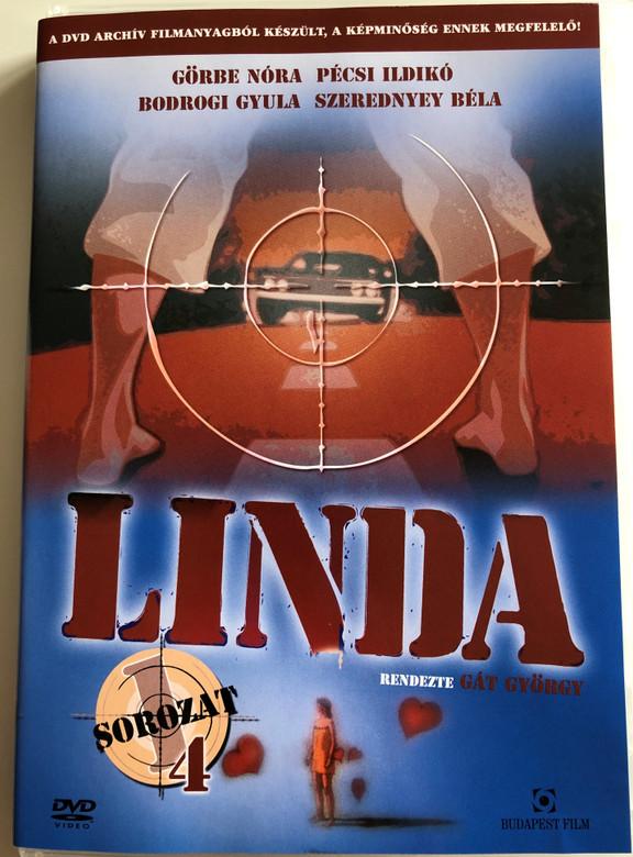 Linda Sorozat 1 Évad 4. DVD 1983 Hungarian TV Series Season 1 Disc 2 / Directed by Gát György / Starring: Görbe Nóra, Szerednyey Béla, Bodrogi Gyula, Pécsi Ildikó / 2 Episodes: Rebeka, A panoptikum (5999544243026)