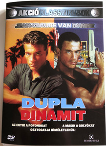 Double Impact DVD 1991 Dupla dinamit / Directed by Sheldon Lettich / Starring: Jean-Claude van Damme, Geoffrey Lewis, Alan Scarfe (5999544251298)