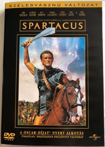 Spartacus (1960) DVD Szélesvásznú változat / Directed by Stanley Kubrick / Starring: Kirk Douglas, Laurence Olivier, Jean Simmons, Charles Laughton, Tony Curtis (5999010445398)