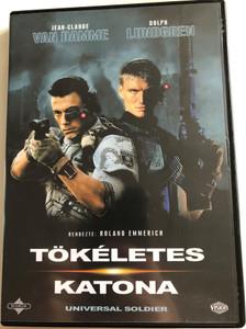 Tökéletes Katona DVD 1992 Universal Soldier / Directed by Roland Emmerich / Starring: Jean-Claude van Damme, Dolph Lundgren, Ally Walker, Ed O'Ross, Jerry Orbach (5996255714654)