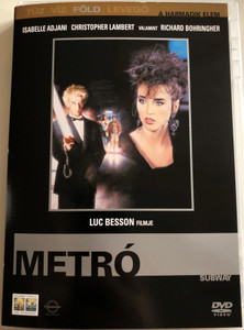 Subway 1985 A Metró / Directed by Luc Besson / Starring: Isabelle Adjani, Christopher Lambert, Richard Bohringer, Jean-Pierre Bacri (5999048906526)