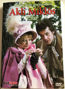 Akli Miklós DVD 1986 Mikszáth Kálmán regénye alapján / Directed bt Révész György / Starring: Hirtling István, Kovács István, Helyei László, Eva Vejmelková (5996051436422)