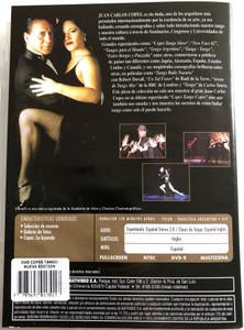 Copes Tango Copes DVD El Musical / Tango musical performance and tango lessons / Directed by Juan Carlos Copes, Alberto Bolos / Clases de Tango y Milonga (7797697017017)