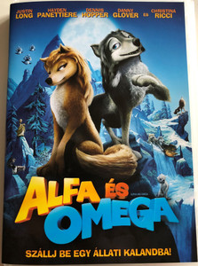 Alpha and Omega DVD 2010 Alfa és Omega / Directed by Anthony Bell, Ben Gluck / Starring: Justin Long, Hayden Panettiere, Dennis Hopper, Danny Glover, Christina Ricci (5999075602040)