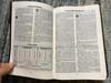 Biblia cu Explicatii / Genuine leather Romanian Study Bible (Cornilescu) / Golden edges, Black Leather Bound / Christian Aid Ministries 2008 / Bible with explanations (ROStudyBible)