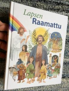 Lapsen Raamattu by Karin Karlberg, Inga wenolf, Lisa Östh / Finnish language children's Bible / Illustrations by Ulf Löfgren / Seurakuntien Lapsityön Keskus 2018 / Hardcover (9789516279995)