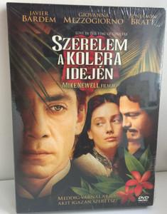 Love in the time of cholera DVD 2007 Szerelem a kolera idején / Directed by Mike Newell / Starring: Javier Bardem, Giovanna Mezzogiorno, Benjamin Bratt (5999048921895)