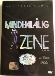 All That Jazz DVD 1979 Mindhalálig zene / Directed by Bob Fosse / Starring: Roy Scheider, Jessica Lange, Leland Palmer (5996255708226)