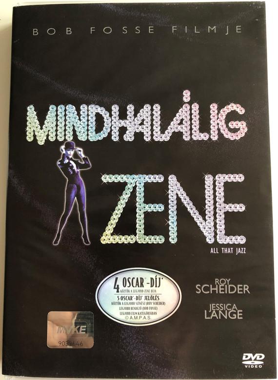 All That Jazz DVD 1979 Mindhalálig zene / Directed by Bob Fosse / Starring: Roy Scheider, Jessica Lange, Leland Palmer (5996255708226)