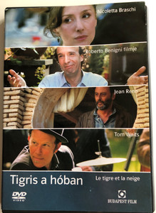 Le tigre ey la neige DVD 2005 Tigris a hóban (The Tiger and the Snow) / Directed by Roberto Benigni / Starring: Roberto Benigni, Jean Reno, Nicoletta Braschi, Emilia Fox (5999544244573)