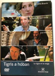 Le tigre ey la neige DVD 2005 Tigris a hóban (The Tiger and the Snow) / Directed by Roberto Benigni / Starring: Roberto Benigni, Jean Reno, Nicoletta Braschi, Emilia Fox (5999544244573)