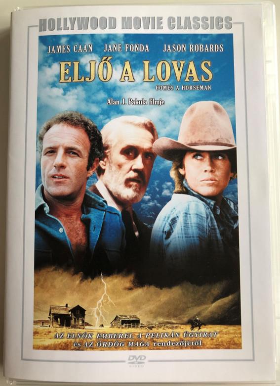 Comes a Horseman DVD 1978 Eljő a lovas / Directed by Alan J. Pakula / Starring: James Caan, Jane Fonda, Jason Robards / Hollywood Movie Classics (5999546333275)
