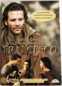 Francesco DVD 1989 / Directed by Liliana Cavani / Starring: Mickey Rourke, Helena Bonham Carter, Mario Adorf / Assziszi Szent Ferenc (5999886089016)