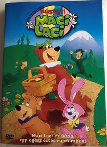 Yogi the Easter Bear DVD 1994 Húsvéti Maci Laci / Directed by Robert Alvarez / Voices: Greg Burson, Don Messick, Ed Gilbert, Jonathan Winters / Maci Laci és Bubu egy egész estés rajzfilmben (5999048904393)