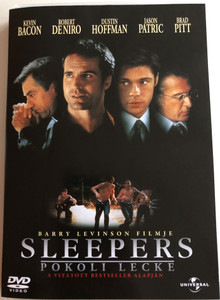 Sleepers DVD 1996 Pokoli lecke / Directed by Barry Levinson / Starring: Kevin Bacon, Robert de Niro, Dustin Hoffman, Brad Pitt (5996051042906)