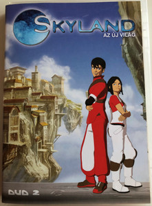 Skyland - Le Nouveau Monde Disc 2 DVD 2005 Skyland - az új világ / Directed by Emmanuel Gorinstein / Starring: Tim Hamaguchi, Phoebe McAuley / Skyland, The New World / 5 episodes (5996473001451)
