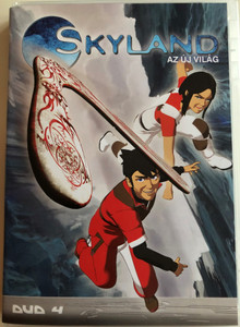 Skyland - Le Nouveau Monde Disc 4 DVD 2005 Skyland - az új világ 4 / Directed by Emmanuel Gorinstein / Starring: Tim Hamaguchi, Phoebe McAuley / Skyland, The New World / 4 episodes (5996473001475)