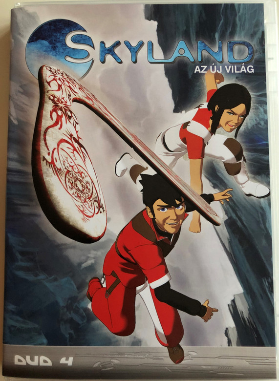 Skyland - Le Nouveau Monde Disc 4 DVD 2005 Skyland - az új világ 4 / Directed by Emmanuel Gorinstein / Starring: Tim Hamaguchi, Phoebe McAuley / Skyland, The New World / 4 episodes (5996473001475)