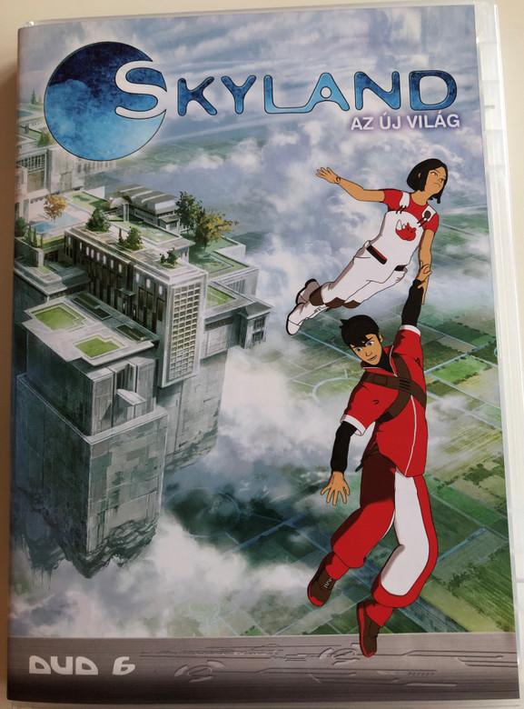 Skyland - Le Nouveau Monde Disc 6 DVD 2005 Skyland - az új világ 6 / Directed by Emmanuel Gorinstein / Starring: Tim Hamaguchi, Phoebe McAuley / Skyland, The New World / 4 episodes (5996473001499)