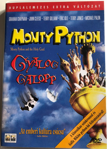 Monty Python and the Holy Grail 2 DVD 1975 Monty Python Gyalog Galopp / Directed by Terry Gilliam, Terry Jones / Starring: Graham Chapman, John Cleese , Terry Gilliam, Eric Idle (5999010446807)