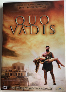 Quo Vadis 2 DVD 2001 / Directed by Jerzy Kawalerowicz / Starring: Paweł Deląg, Magdalena Mielcarz, Bogusław Linda (5999883203712)