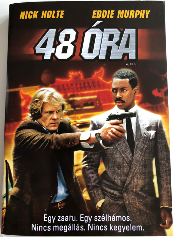 48 Hrs DVD 1982 48 Óra / Directed by Walter Hill / Starring: Nick Nolte, Eddie Murphy, Annette O'Toole (5996051310388)