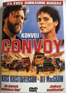 Convoy DVD 1978 Konvoj / Directed by Sam Peckinpah / Starring: Kris Kristofferson, Ali MacGraw, Ernest Borgnine / 25 éves jubileumi kiadás (5999544560062)