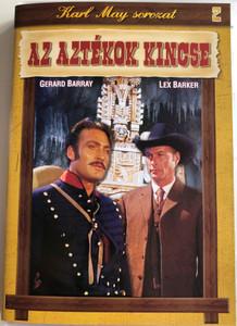 Treasure of the Aztecs DVD 1965 Az Aztékok kincse / Directed by Robert Siodmak / Starring: Lex Barker, Gerard Barray, Rik Battaglia / Karl May sorozat (5999883047941)