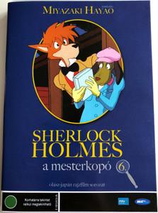 Fiuto di Sherlock Holmes 6. DVD 1985 Sherlock Holmes a mesterkopó 6. (Sherlock Hound ) / Directed by Miyazaki Hayao / Japanese-Italian cartoon series (5996492100739)