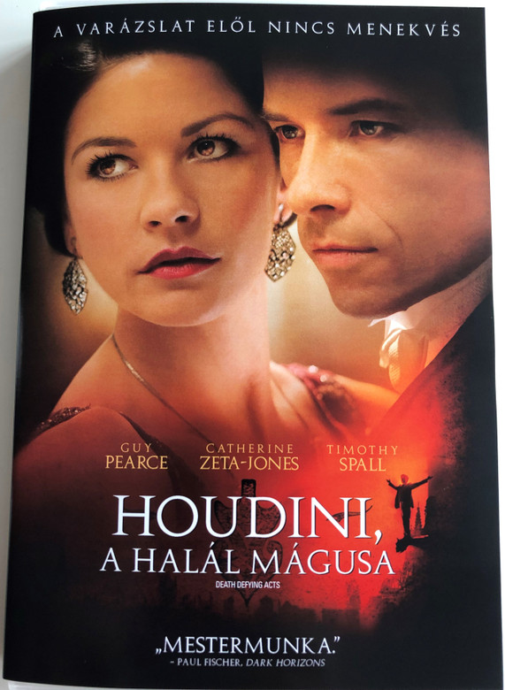 Death defying Acts DVD 2007 Houdini, a halál mágusa / Directed by Gillian Armstrong / Starring: Guy Pearce, Catherine Zeta-Jones, Timothy Spall (5999048925848)