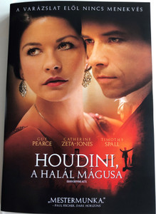 Death defying Acts DVD 2007 Houdini, a halál mágusa / Directed by Gillian Armstrong / Starring: Guy Pearce, Catherine Zeta-Jones, Timothy Spall (5999048925848)